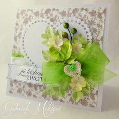 Gabi M. craftuje: CARDS Love Heart Peridot card Love Heart, Peridot, Cardmaking, Scrapbook, Cards, Diy, Heart Of Love, Bricolage, Peridots