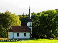 In Oberharz-Elend smallest wooden church in Germany