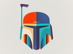 Star Wars fan art by Ema Rogobete, via Behance