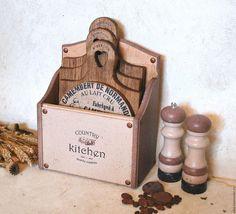 Купить ДВА ШОКОЛАДА хлебница из гивеи - бежевый, шоколадный, шоколадный цвет…