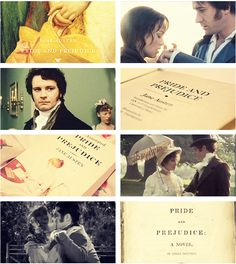 Pride and Prejudice. I love the Colin Firth version. Period Drama Movies, Period Dramas, I Love Books, My Books, Pride And Prejudice 2005, Jane Austen Books, Best Love Stories, Movies Worth Watching, Seriously Funny