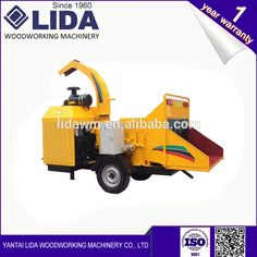 LIDA Mobile wood chipper good price for sale
