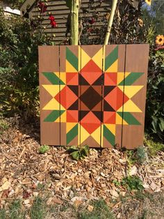 Fall Sunflower - Barn Quilts by Chela