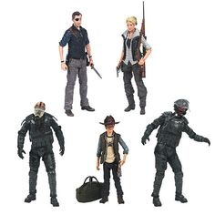 Walking Dead TV Series 4 Action Figure Set - McFarlane Toys - Walking Dead - Action Figures at Entertainment Earth