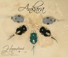 Le gioie di Happyland - patterns: orecchini/earrings