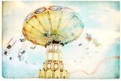 ride the sky, decorative beach photography, wall decor, kids decor 12x18. $65.00, via etsy. great for my girl's room