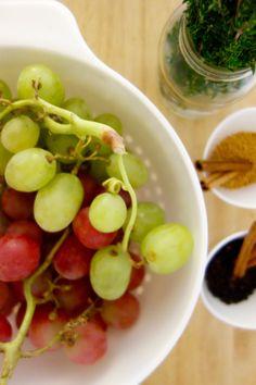 Pickled grape ingredients