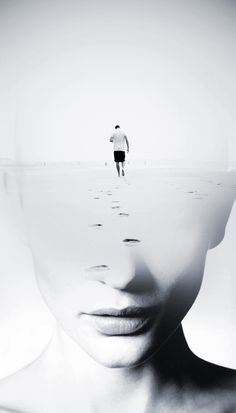 Spanish photographer Antonio Mora fuses standard portraits with landscape, animal, and abstract photography, resulting in extraordinary combinations. Double Exposure Photography, Abstract Photography, Creative Photography, Portrait Photography, Levitation Photography, Experimental Photography, Beach Photography, Underwater Photography, Photography Tricks