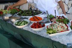 Salad bar at LCFCC // La Canada Flintridge Country Club