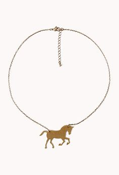 Horse Necklace   FOREVER 21 - 1059834961