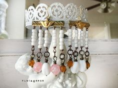 dangleDollupcycled vintage jewelry finding chandelier by Arey