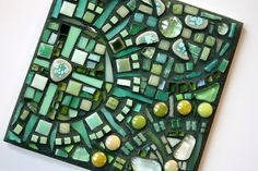 My First Mosaic - Kitchen Trivet - GLASS CRAFTS Craftster Best of 2014 Winning Project