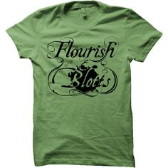 Flourish And Blotts Harry Potter T-Shirt (Mens, Ladies, Kids). £15.00, via Etsy.