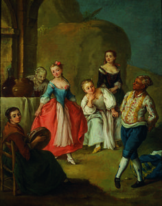 """La furlana"", 1750-1755 #pietrolonghi #querinistampalia"
