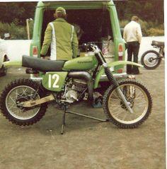 1977- Kawasaki Works Bike of Torleif Hansen
