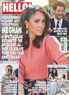Prince Harry And Megan, Harry And Meghan, Meghan Markle Prince Harry, Kate And Meghan, Hello Magazine, Princess Meghan, Princess Charlene, Princess Kate Middleton, Hooded Eye Makeup
