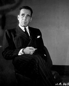 Humphrey Bogart. The first man to steal my heart. It's such a shame that his golden days were so late in his life. The world missed out.