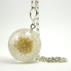 Dandelion Pendant by sisicata on Etsy
