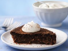 Impossibly Easy Chocolate-Coconut Pie