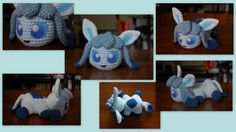 Baby Glaceon (with pattern) by aphid777.deviantart.com on @deviantART