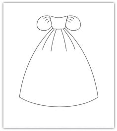 paper doll clothes templates