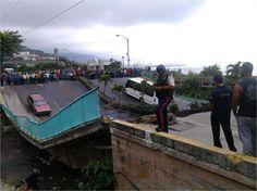 Puente Guanape colapsó e incomunicó zonas de Vargas Estructura del puente Guanape II (Vargas) colapsó y dejó incomunicadas las poblaciones de Punta de Mulatos, Macuto, Caraballeda, Caribe, Tanaguarenas y Naiguatá al Este del Litoral Central.  Twittear  http://wp.me/p6HjOv-2WI ConstruyenPais.com