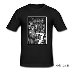 Misfits T-shirt Slim Fit 100% Cotton American Punk Rock Band Horror Punk