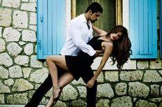 Bailando al ritmo de salsa