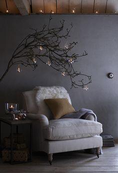 Атмосфера праздников в английском стиле   Пуфик - блог о дизайне интерьера