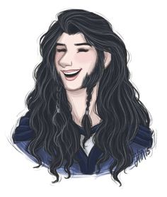 elennumen:  the world needed more happy Dis so I drew a happy Dis