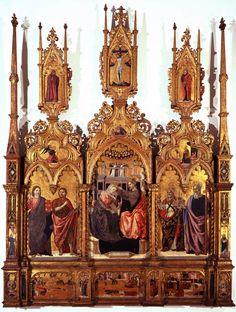 The Athenaeum - The Coronation of the Virgin and Saints (Agnolo degli Erri - )