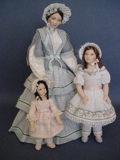 DECADES OF DAUGHTERS 1850 by Debbie DP, via Flickr