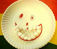 Dental - paper plate face with marshmallow 'toothy' smile (try using diy puffy paint instead of frosting) Dentist Art, Local Dentist, Dental Health Month, Health Unit, Teeth Care, Personal Hygiene, Healthy Teeth, Infant Activities, Kids Education