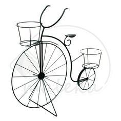 Bicicleta estilo antigua portamacetas, Maleka, objetos con diseño