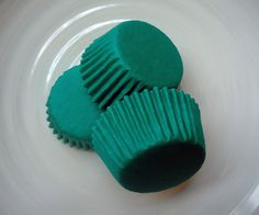 Solid Teal Green Mini Cupcake Liners 50 by CakesAndKidsToo on Etsy, $3.00  or is this more the dark teal color?