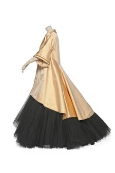Adelaide Evening Ensemble, Christian Dior for Dior, Paris, France 1948 Spring-Summer Haute Couture Collection, Synthetic Tulle
