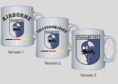 Tasse FschJgBtl 313 - Fallschirmjägerbataillon 313 der Bundeswehr / mehr Infos auf: www.Guntia-Militaria-Shop.de