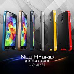 The Original Spigen SGP Neo Hybrid Series™ Case for Samsung Galaxy S5