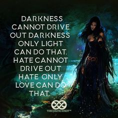We can never take away hate by putting fuel into the fire and adding hate. We can only do that by understanding others and expressing our love and care for them. May this be a day that you remove darkness in people's hearts.