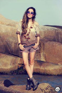 FashionCoolture: OVERSIZE VINTAGE INSPIRED METAL ROUND CIRCLE SUNGLASSES 8370