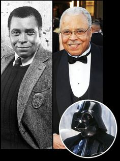 Then & Now - James Earl Jones. The voice of Lord Vader, Lion King (Simba's father) and several movies over 7 decades. A very humble man who deserves a moment of reflection and a smile. Actors Then And Now, Celebrities Then And Now, Famous Celebrities, Earl Jones, Lion King Simba, Star Wars, Actor Photo, Country Music Singers, Icons