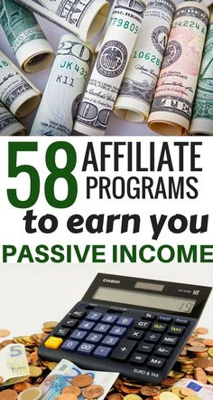 Make passive income with these 58 affiliate programs for any blogging| make money blogging| affiliate marketing| ways to make money online| work from home