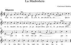La Madroñera. Canción Andaluza