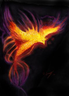 Phoenix Rising by Victor-Lam-art.deviantart.com on @deviantART