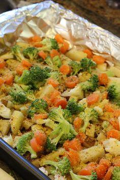 Averie Cooks » Cheezy Vegetable Bake  i am SO doing this