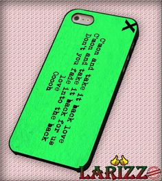 "ed sheeran logo green for iPhone 4/4s, iPhone 5/5S/5C/6/6 , Samsung S3/S4/S5 Case ""08"""