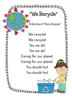 Preschool Bilingual Project: Earth Day Songs