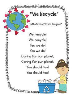 Preschool Bilingual Project: Earth Day Songs