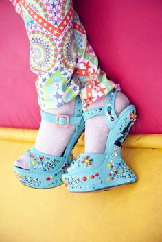crazy shoes | when you want to stand on the balls of your feet. never.