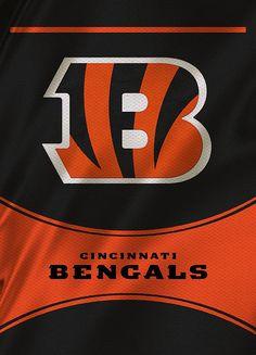 Cincinnati Bengals Uniform Print By Joe Hamilton